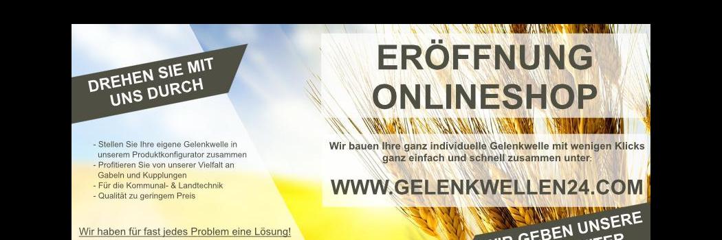 Online-Shop für Gelenkwellen von Jacobs Fahrzeugteile